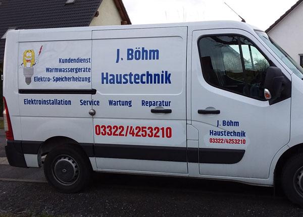 J. Böhm Haustechnik - Elektro -